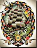 Fear II Stretched Canvas Print by Tyler Bredeweg