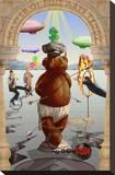 Master Fine Arts Teddy Impressão em tela esticada por Preston Craig