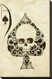Ace Impressão em tela esticada por  Shayne of the Dead