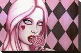 Lollipop Impressão em tela esticada por  Shayne of the Dead
