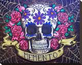 Memento Flowers Impressão em tela esticada por  Shayne of the Dead