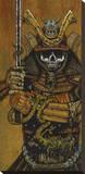 By the Sword of the the Samurai Reproducción de lámina sobre lienzo por David Lozeau