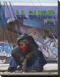 Gangsta Teddy II Impressão em tela esticada por Preston Craig