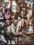 Hula Girls キャンバスプリント : マルコ・アルメラ