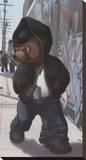 Gangsta Teddy I Impressão em tela esticada por Preston Craig