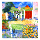 Netty Lives in Karlsruhe Premium Giclee Print by Mike Smith