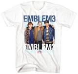 Emblem 3 - Group Photo (slim fit) Skjorter