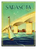 Sarasota Reproduction giclée Premium par Stella Bradley