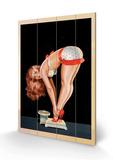 Wink Magazine, på en vekt Treskilt av Peter Driben