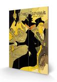 Divan Japonais Treskilt av Henri de Toulouse-Lautrec