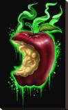 Witch Apple Bedruckte aufgespannte Leinwand von  Lefty Joe
