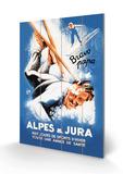 Alpes and Jura Treskilt av Eric De Coulon
