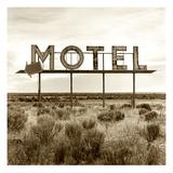 Motel Sign Lámina fotográfica prémium por TM Photography