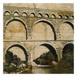 Aqueduct 1 Reproduction giclée Premium par John Douglas
