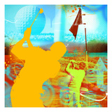 Golf 1 Premium Giclee Print by JB Hall