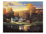Late Evening in Autumn Premium Giclee Print by Max Hayslette