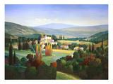 Hills of Provence Reproduction giclée Premium par Max Hayslette