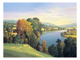 Hill & Valley II Premium Giclee Print by Max Hayslette