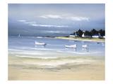 Einlass an der Küste II Giclée-Premiumdruck von Frédéric Flanet