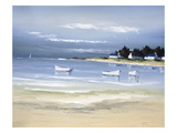 Coastal Inlet II Premium Giclee Print by Frédéric Flanet
