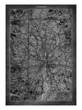 London Map Premium Giclee Print by  GI ArtLab