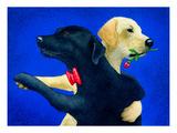 Lab Dance Reproduction giclée Premium par Will Bullas