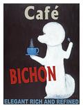 Bichon Impressão giclée premium por Ken Bailey