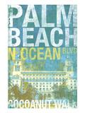 Palm Beach 2 Giclée-Premiumdruck von Cory Steffen
