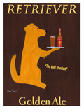 Golden Ale Reproduction giclée Premium par Ken Bailey