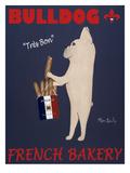 French Bulldog Bakery Premium Giclée-tryk af Ken Bailey