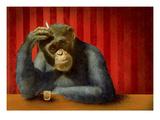 Monkey Bars II Giclée-Premiumdruck von Will Bullas