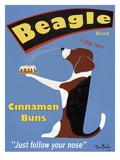 Beagle Buns Premium-giclée-vedos tekijänä Ken Bailey