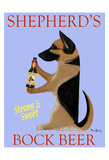 Shepherd'S Bock Beer Reproduction pour collectionneur par Ken Bailey