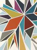 Pinwheel I Print by Erica J. Vess