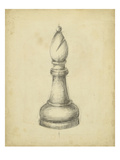 Antique Chess II Poster von Ethan Harper
