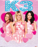 K3 Polka Dot Dress Poster