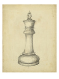 Antique Chess I Posters by Ethan Harper