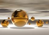 Golden Bowl II Plakater af Peter Hillert