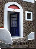 Blue Door Stretched Canvas Print by Dale MacMillan