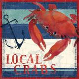 Deep Sea Crab Kunstdrucke von Paul Brent