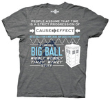 Doctor Who - Wibbly Wobbly Quote T-shirts