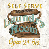 Laundry Room II Plakater af Debbie DeWitt