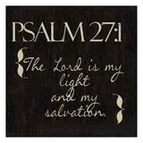 Psalm 27-1 Prints by Taylor Greene