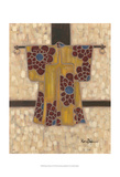 Primary Kimono II Affiches par Karen Deans