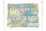 Discover Courage Stampe di Erin Butson