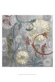 Seahorse Collage I Plakater av Andrea James
