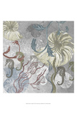 Seahorse Collage II Posters av Andrea James