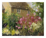 Cotswold Cottage IV Reproduction procédé giclée par Mary Jean Weber