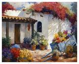 Casa Paloma Giclée-tryk af Carolyne Hawley