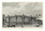 Vue Du Pont Neuf Giclee Print by A. Pugin